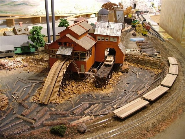 Railroad Line Forums - Master Creations Coon Gap Sawmill