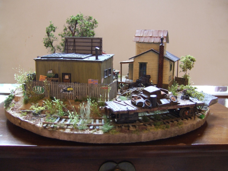 Model Railroad Dioramas Model Railroad N Scale Diorama 2